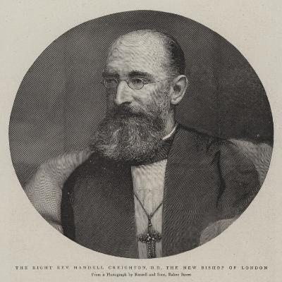 The Right Reverend Mandell Creighton, Dd, the New Bishop of London--Giclee Print