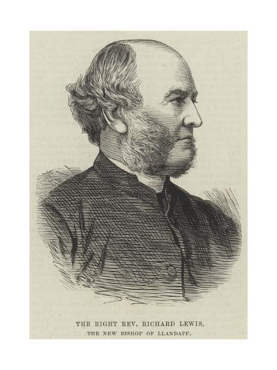 The Right Reverend Richard Lewis, the New Bishop of Llandaff--Giclee Print