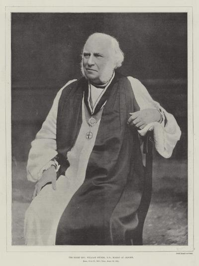 The Right Reverend William Stubbs, Dd, Bishop of Oxford--Giclee Print
