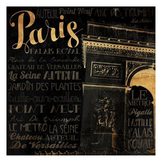 The Right Side of Paris-Jace Grey-Art Print
