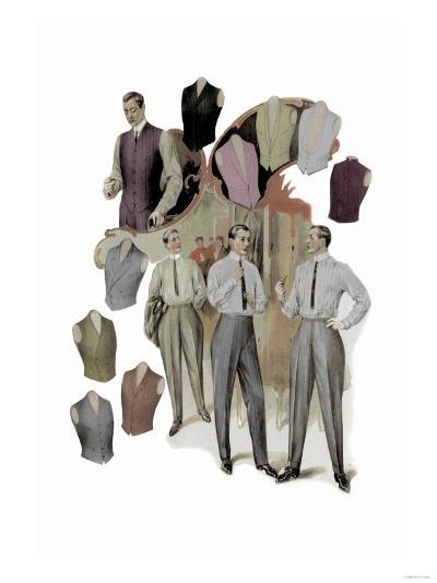 The Right Vest--Art Print