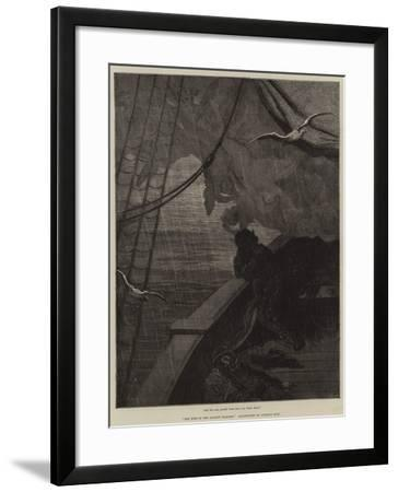 The Rime of the Ancient Mariner-Gustave Dore-Framed Giclee Print