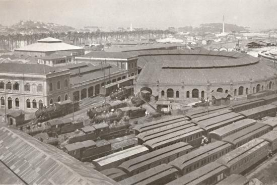 'The Rio de Janeiro Terminus of the Central Railway of Brazil', 1914-Unknown-Photographic Print