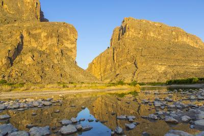The Rio Grande River at Santa Elena Canyon, Big Bend NP, Texas, Usa-Chuck Haney-Photographic Print