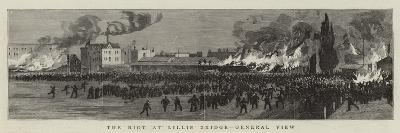 The Riot at Lillie Bridge, General View--Giclee Print