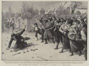 The Riots in Sicily, Stoning a Priest at Gibellina