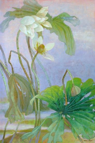 The Rise of White Lotus-Ailian Price-Art Print