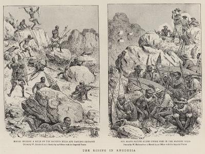 The Rising in Rhodesia-William Ralston-Giclee Print