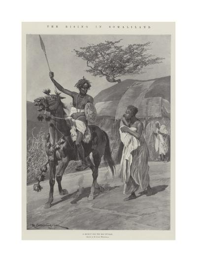 The Rising in Somaliland-Richard Caton Woodville II-Giclee Print