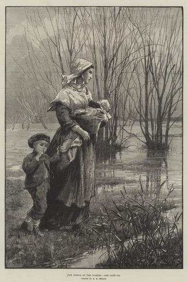 The Rising of the Waters-Alfred Edward Emslie-Giclee Print