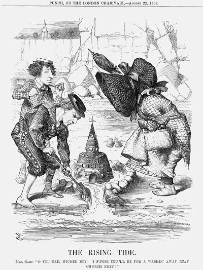 The Rising Tide, 1868-John Tenniel-Giclee Print