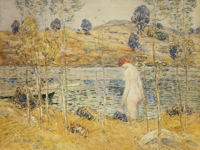 The River Bank, 1906-Childe Hassam-Giclee Print
