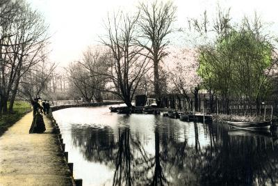 The River Gipping, Ipswich, 1926--Giclee Print