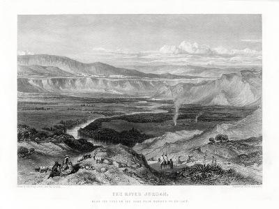 The River Jordan, 1887-William Richardson-Giclee Print