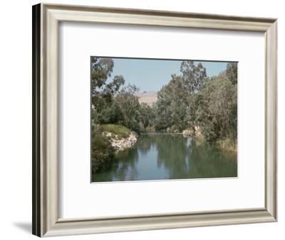 The river Jordan-CM Dixon-Framed Photographic Print