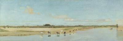 The River Ofanto-Giuseppe De Nittis-Giclee Print