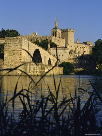 The River Rhone at Avignon, Provence, France-Charles Bowman-Photographic Print