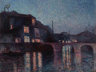 The River Sambre in Charleroi, 1896-Maximilien Luce-Giclee Print