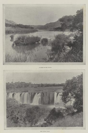 The River Tugela--Giclee Print