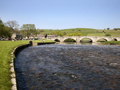 The River Wharfe at Burnsall, Wharfedale, Yorkshire Dales, Yorkshire, England, UK, Europe-Mark Sunderland-Photographic Print