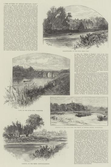The Rivers of Great Britain, East-William Henry James Boot-Giclee Print