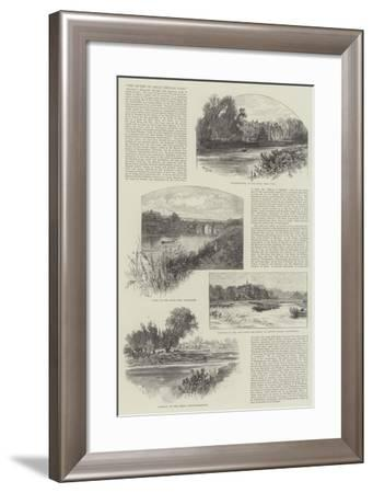 The Rivers of Great Britain, East-William Henry James Boot-Framed Giclee Print