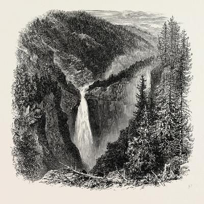 The Rjukanfos--Giclee Print