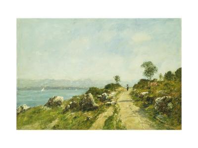 The Road, Antibes-Eug?ne Boudin-Giclee Print