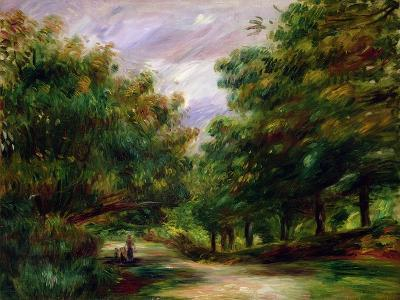 The Road Near Cagnes, 1905-Pierre-Auguste Renoir-Giclee Print