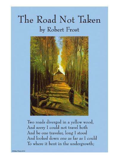 The Road Not Taken--Art Print