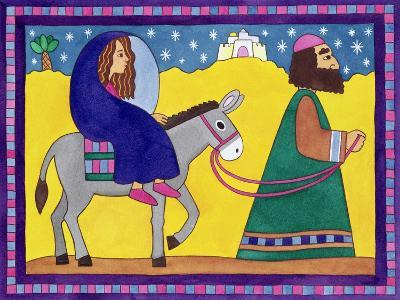 The Road to Bethlehem-Cathy Baxter-Giclee Print