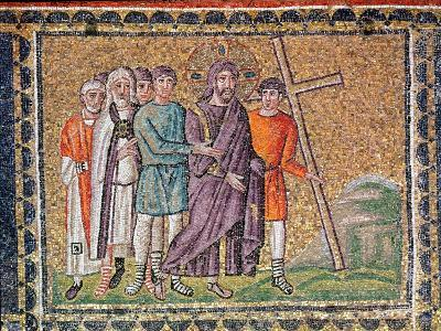 The Road to Calvary, Scenes from the Life of Christ-Byzantine School-Giclee Print