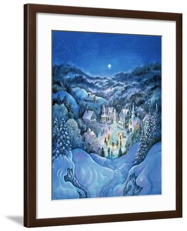 The Road to Christmas-Bill Bell-Framed Giclee Print