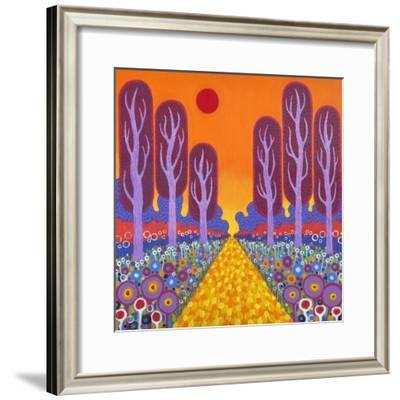 The Road To Fauvesville, 2013-David Newton-Framed Giclee Print