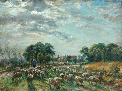 The Road to Hatfield Heath, C.1900-William Mark Fisher-Giclee Print