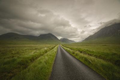 The Road To Highlands-Philippe Manguin-Photographic Print