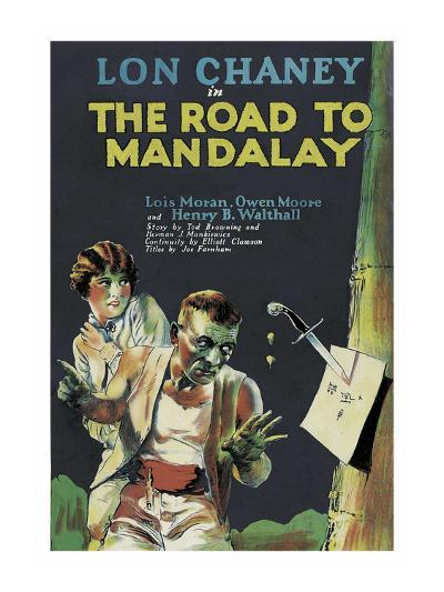 The Road to Mandalay--Art Print