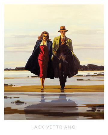 "Jack Vettriano /""The Road to Nowhere/"" Quality Print"