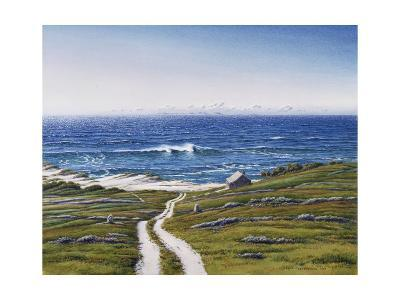 The Road to the House and the Wave-Lee Mothes-Giclee Print