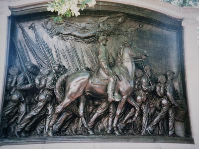 The Robert Gould Shaw-Augustus Saint-gaudens-Giclee Print