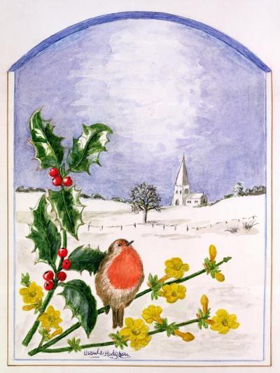 The Robin-Ursula Hodgson-Giclee Print