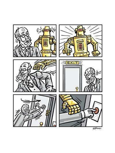 The Robot-Jerry Gonzalez-Giclee Print