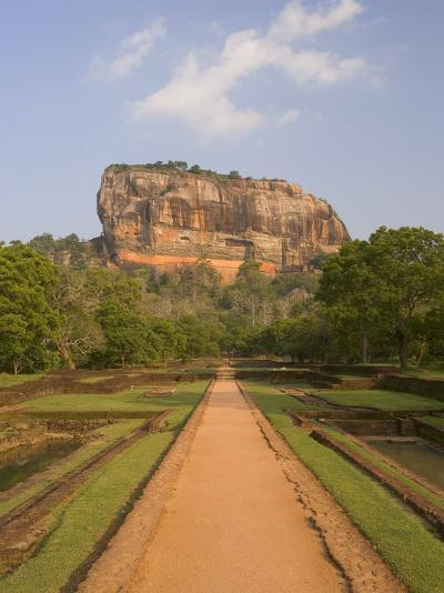 The Rock Fortress of Sigiriya (Lion Rock), Unesco World Heritage Site, Sri Lanka, Asia-Gavin Hellier-Photographic Print