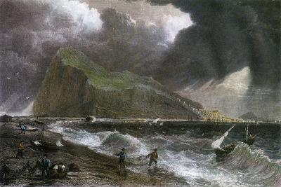 The Rock of Gibraltar, as Seen from the Bay Side, 20th Century--Giclee Print