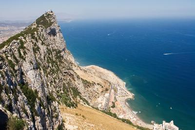 The Rock of Gibraltar Overlooking the Atlantic Ocean-Susan Degginger-Photographic Print