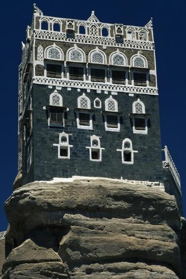 The Rock Palace or Dar Al-Hajar--Giclee Print