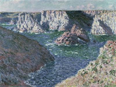 The Rocks of Belle Ile, 1886-Claude Monet-Giclee Print