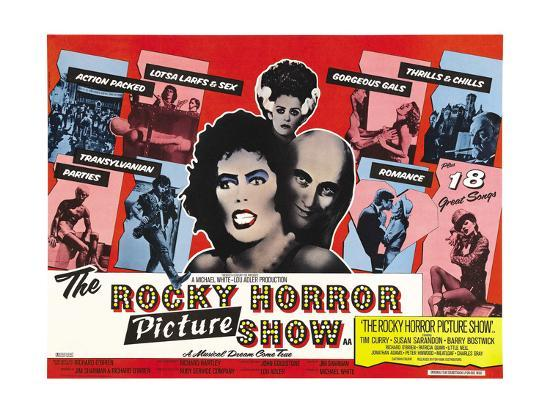 The Rocky Horror Picture Show, 1975--Giclee Print