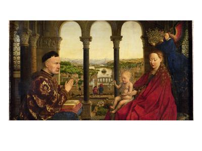 The Rolin Madonna-Jan van Eyck-Giclee Print