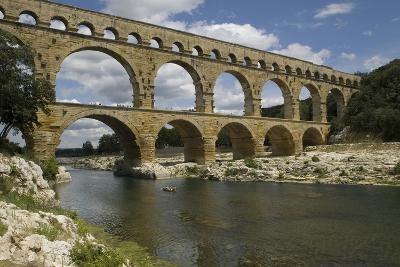 The Roman Aqueduct across the River Gard Was Built in the Middle of the First Century- LatitudeStock-Photographic Print